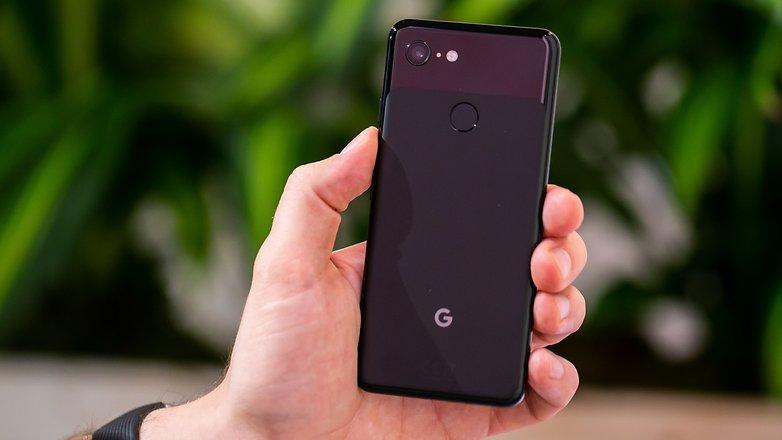 AndroidPIT google pixel 3 back