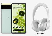 Pixel 6 & Pixel 6 Pro: Vorbestellen und kostenlose Bose-Kopfhörer abgreifen