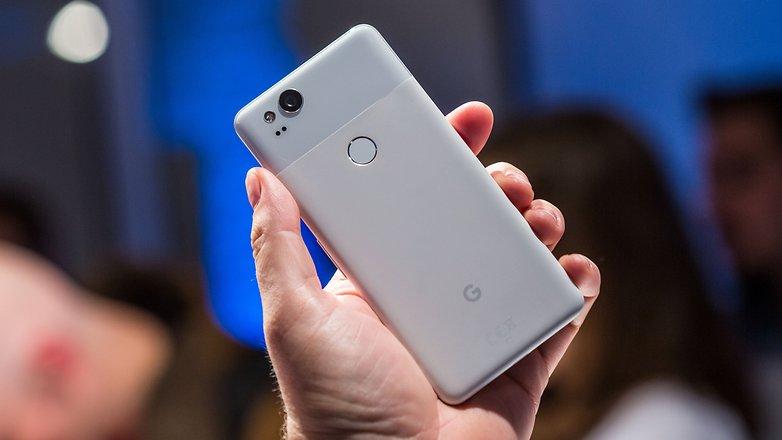 google pixel 2 backside
