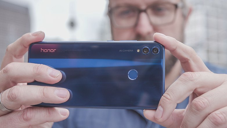 AndroidPIT honor 8x cameras