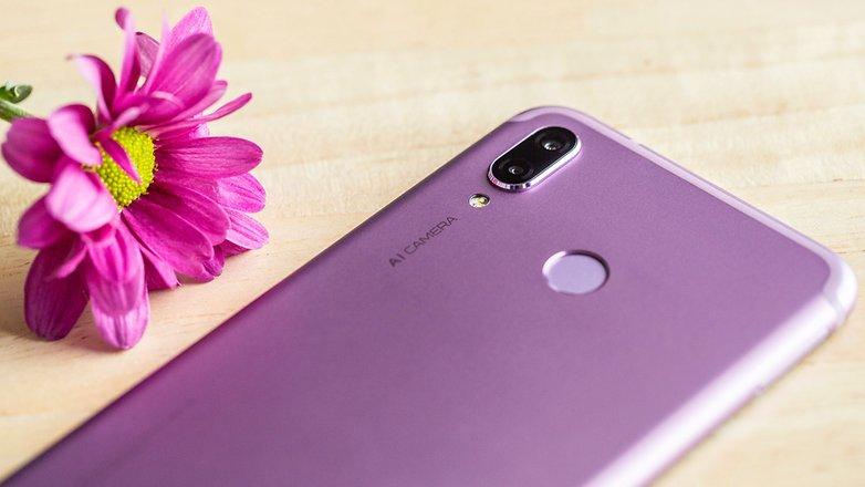 AndroidPIT honor play camera