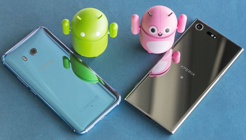 HTC U11 vs Sony Xperia XZ Premium: which flagship wins?