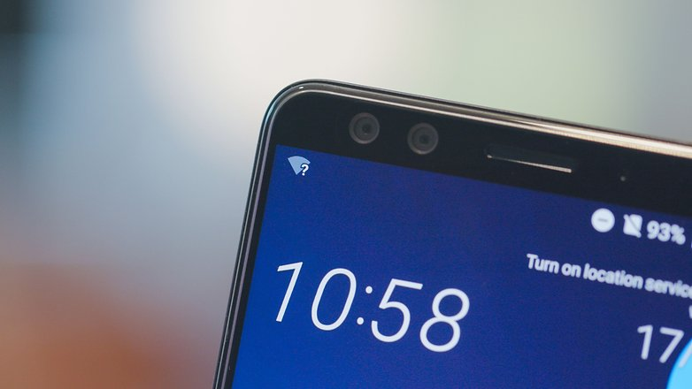 AndroidPIT htc u12 plus dual front cam