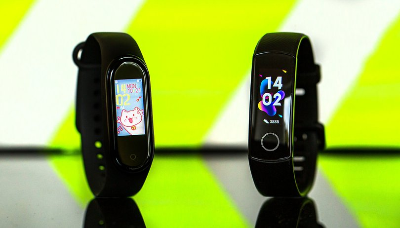 Xiaomi Mi Band 4 vs Honor Band 5 : quel est le meilleur fitness tracker ?