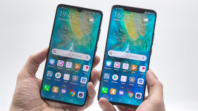 AndroidPIT huawei mate 20 vs mate 20 pro