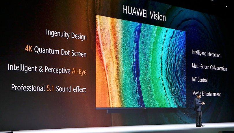 Huawei Vision: la TV 4K con funzionalità per l'IoT