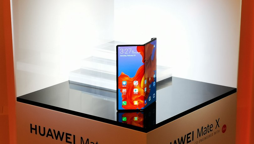 Huawei launches Mate X folding phone with 5G out of the box