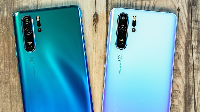 AndroidPIT huawei p30 pro colors