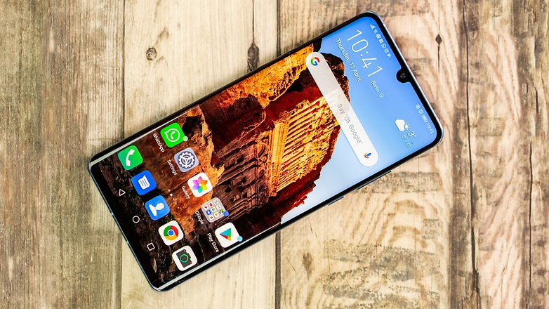 AndroidPIT huawei p30 pro front