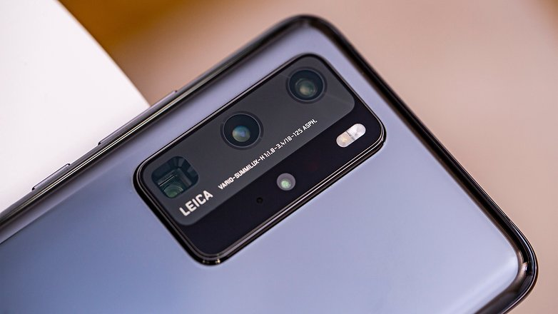 AndroidPIT huawei p40 pro camera closeup np3