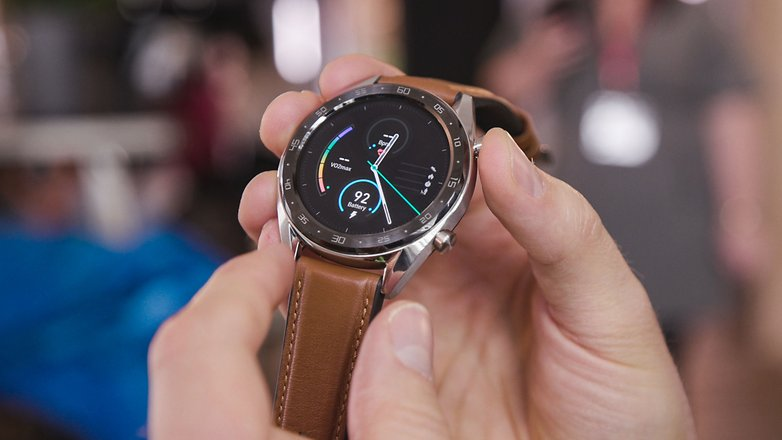 AndroidPIT huawei watch gt front