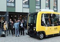 Selbstfahrender Bus startet im Berliner Verkehr