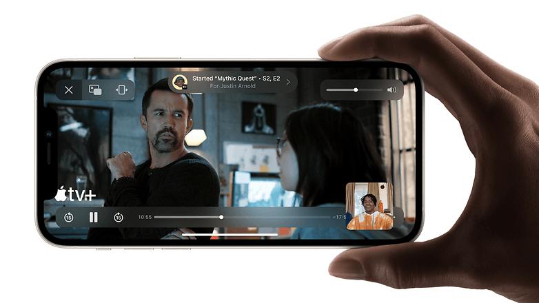 apple ios 15 shareplay demo
