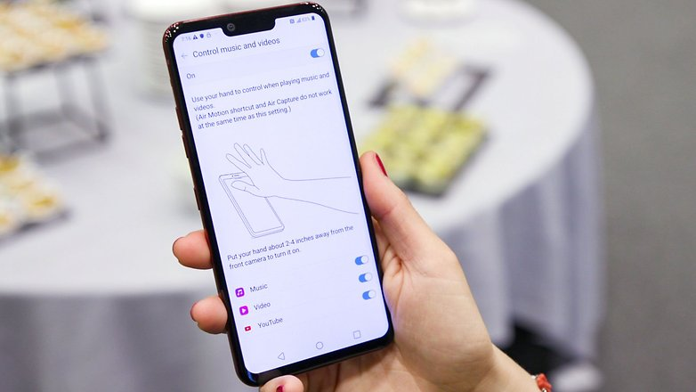 AndroidPIT lg g8 air motion 43ar
