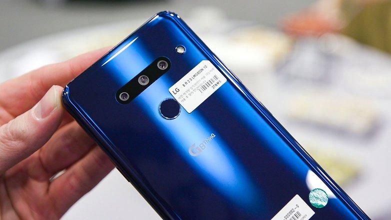 AndroidPIT lg g8 back closeup 43ar
