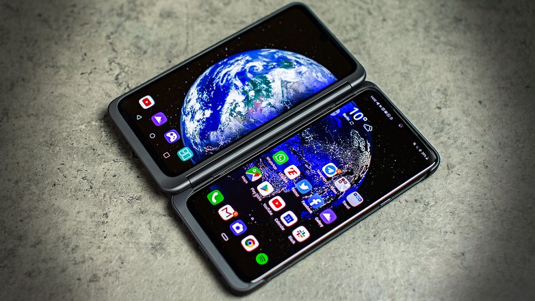AndroidPIT lg g8x thinq hero