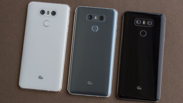 lg g6 back colors
