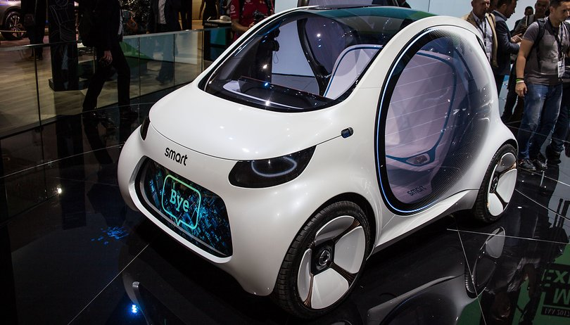 Behold Mercedes' futuristic vision: the driverless, Firefly-inspired Smart