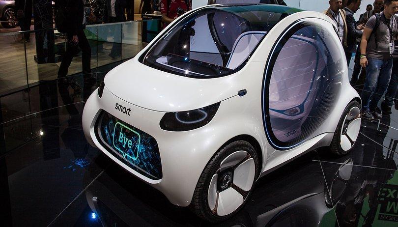 """Ecco la """"Google Car"""" secondo Mercedes"""