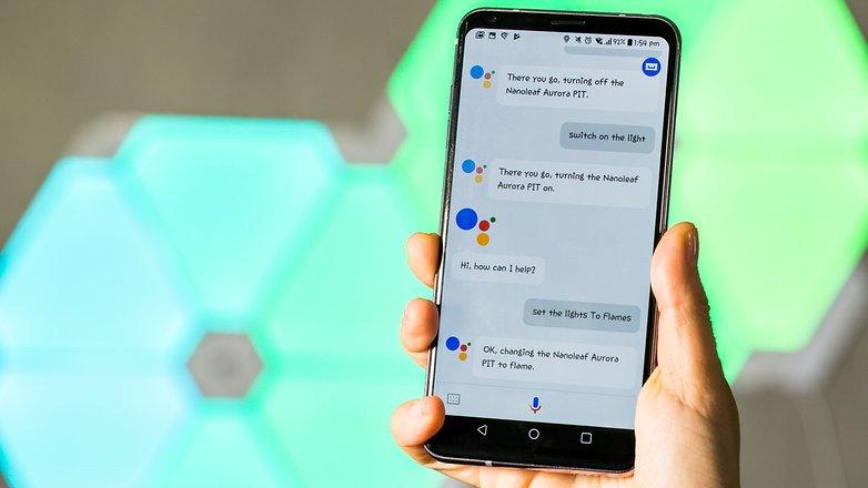 nanoleaf aurora google assistant