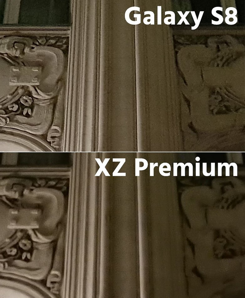 night s8 vs xz premium