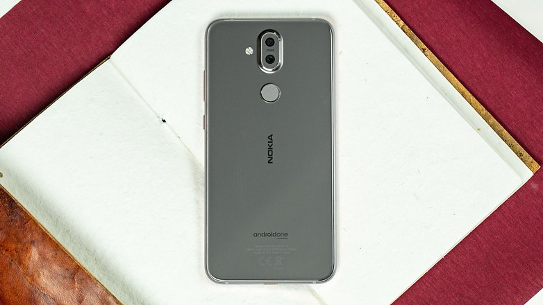 AndroidPIT nokia 8 1 back