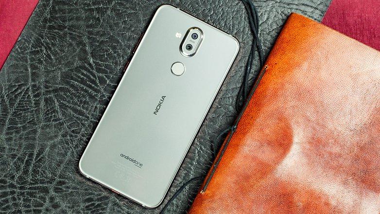 Das Nokia 8.1 macht auch optisch was her. / © AndroidPIT