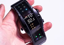 Nubia Alpha hands-on: the amazing foldable smartwatch