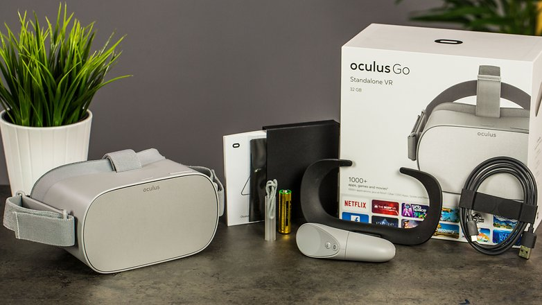 AndroidPIT oculus go accessories