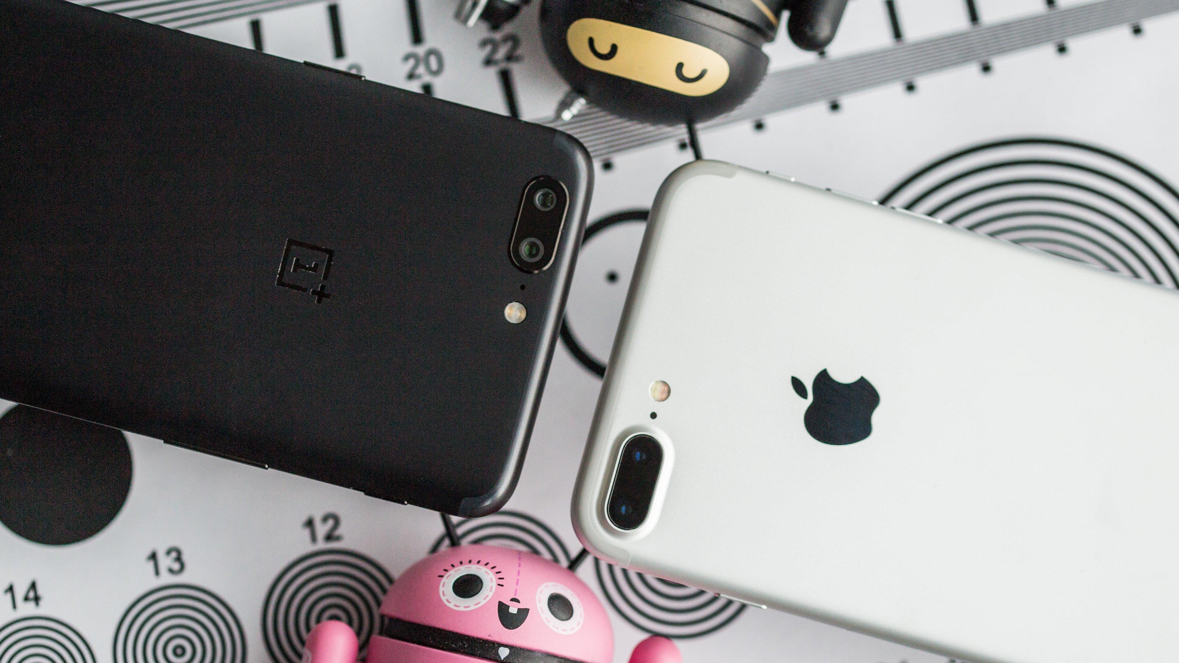 Camera comparison: OnePlus 5 vs Apple iPhone 7 Plus ...