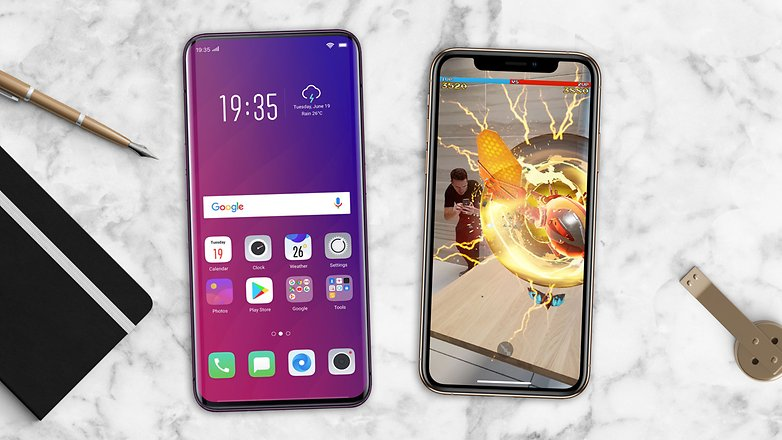 AndroidPIT iphone xs oppo find x 2