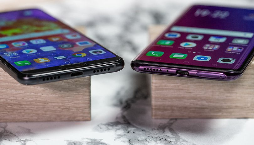 Huawei P20 Pro vs OPPO Find X: what's the price of innovation?
