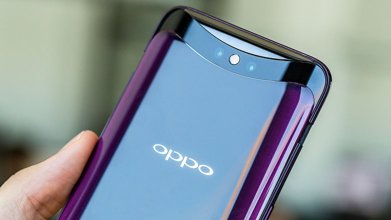 AndroidPIT oppo find x back detail