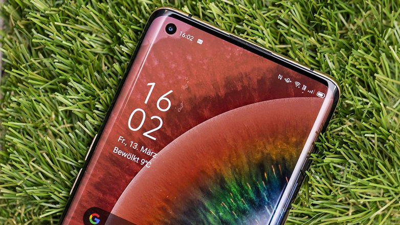 AndroidPIT oppo find x2 pro front detail1