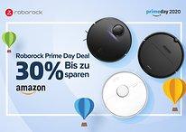 Prime Day Deals: bis zu 30% Rabatt auf Staubsaugerroboter von Roborock
