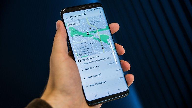 samsung connect tag app