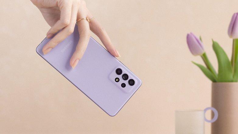 Samsung Galaxy A52 hands on 2ct