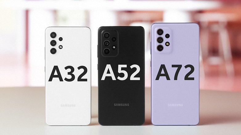 Samsung galaxy A32 A52 A72 family photo 2ct
