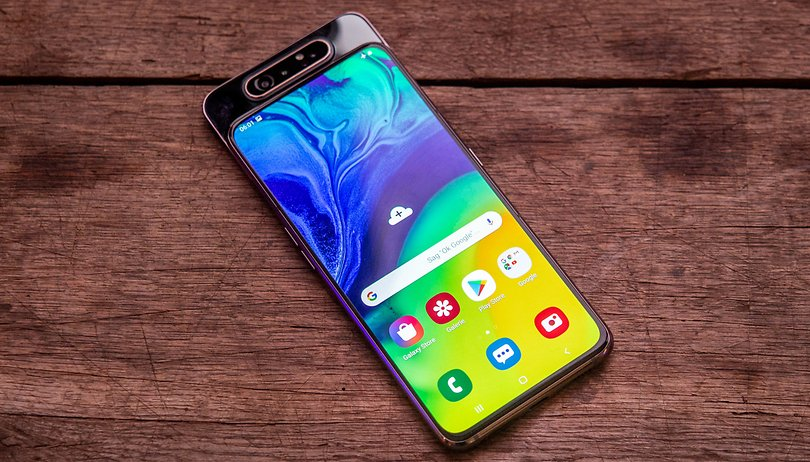 Galaxy A80 e la sua fotocamera pop-up rotante nel nostro hands-on
