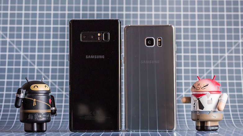 samsung galaxy note 8 note 7 back
