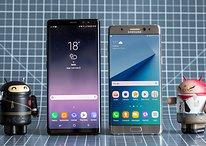 O que muda entre o Galaxy Note 8 e o Galaxy Note 7?