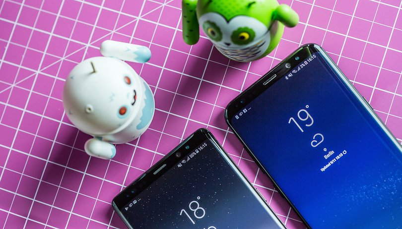 Samsung Galaxy S8 with Oreo: many options, not much choice