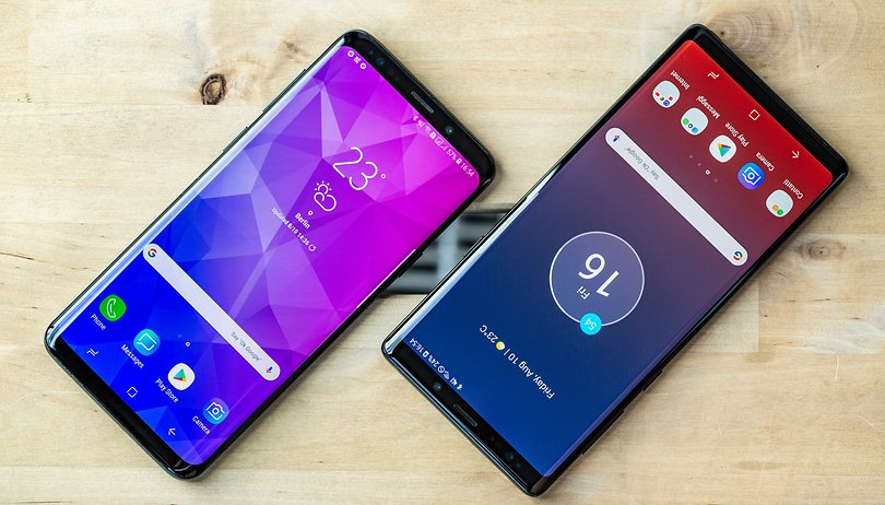 The Galaxy S9's update to Android 10 has been put on hold