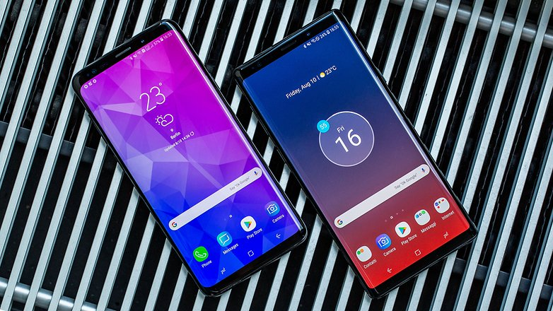 AndroidPIT samsung galaxy note 9 vs s9 plus hero