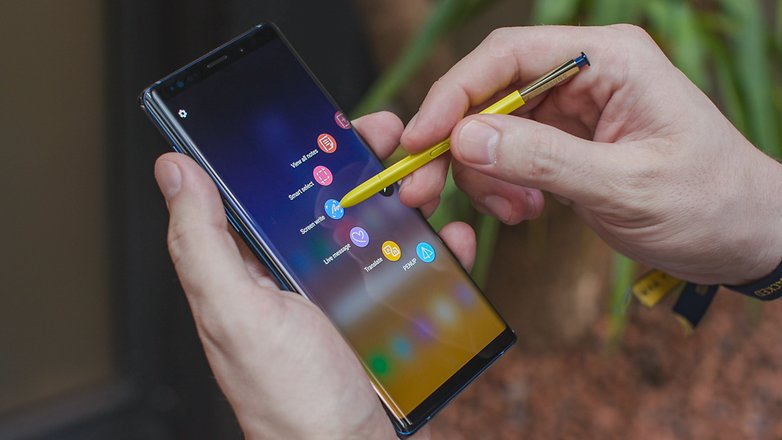 AndroidPIT samsung galaxy note9 s pen