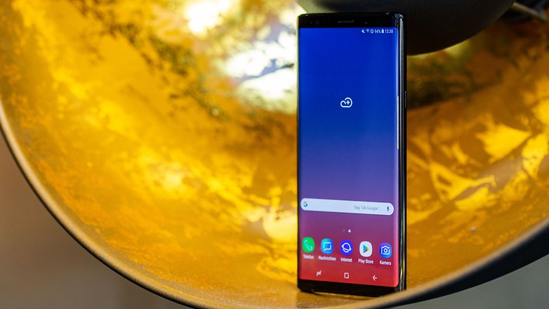 AndroidPIT samsung galaxy note9 side2