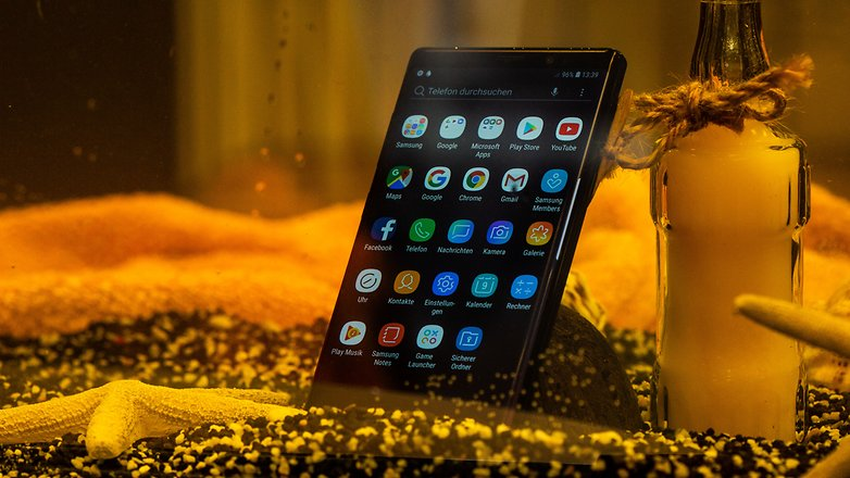 AndroidPIT samsung galaxy note9 waterproof