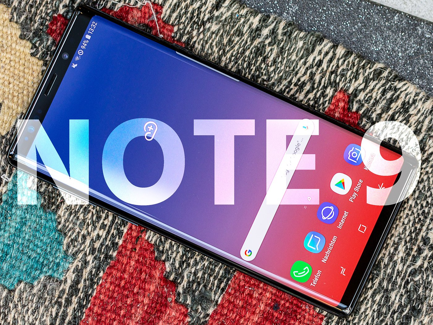 Samsung Galaxy Note 9: Android update brings all but night