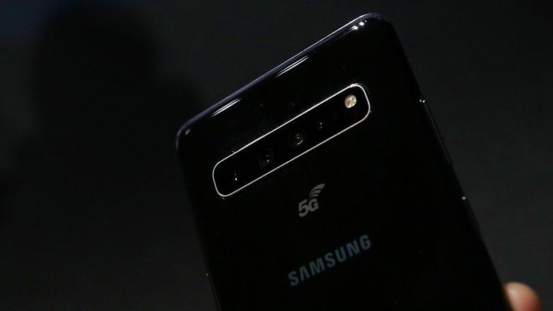 AndroidPIT samsung galaxy s10 5g camera module btha