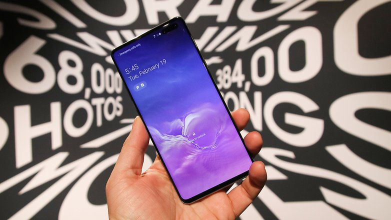 AndroidPIT samsung galaxy s10 5g front2 btha
